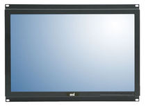panel mount industrial LCD monitor 8U, 20"