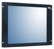 panel mount industrial LCD monitor 8U, 19"