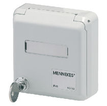 panel mount junction box for RJ45 connector IP44 | 43xx series  Mennekes