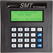 panel mount operator terminal 4 x 20 char, max. 9 600 bps | SMT TWO TECHNOLOGIES
