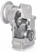 parallel shaft helical shaft mounted gear reducer  HYDROMEC