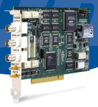 PCI card: arbitrary waveform generator 50 MS/s, 100 &micro;Hz - 25 MHz | 5325 Tabor Electronics