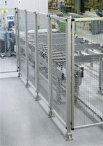 perimeter guard: wire mesh fence  RK Rose+Krieger