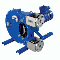 peristaltic pump for viscous/corrosive/abrasive/high purity fluids max. 76 m&sup3;/h | Abaque series MOUVEX