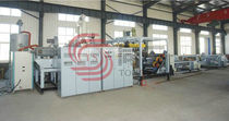 PET sheet extrusion line  Tongsan Plastic Machinery Co., Ltd.