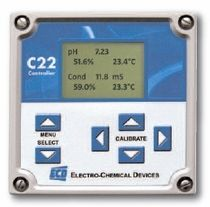 pH / ORP controller C22 Electro-Chemical Devices ECD