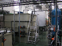 physico-chemical water treatment unit  TECAM