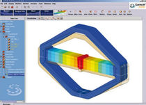 piezoelectric system design and simulation software OOFELIE PiezoElectric SAMTECH