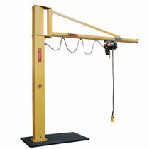 pillar slewing jib crane (overbraced) 125 - 2 000 kg, max. 8 m | GBA/GBP series DONATI SOLLEVAMENTI