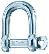 pin type D shackle AISI 316L Wichard