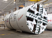 pipe jacking microtunneling boring machine (MTBM)  Caterpillar Tunnelling Canada Corporation