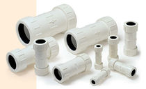 plastic compression pipe fitting DN 15 - 100 | EC100 Shie Yu Machine Parts Industrial Co., Ltd.