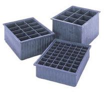 plastic container with partition  Buckhorn