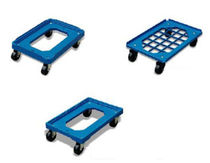 plastic dolly for container 150 - 250 kg | PD series HU-LIFT