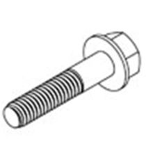 plastic hexagonal washer head screw  MICRO PLASTICS