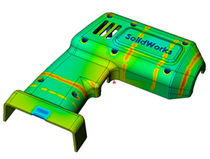 plastic injection process simulation software SolidWorks Plastics SOLIDWORKS