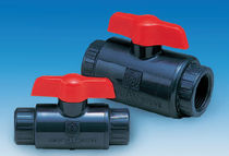 "plastic manual ball valve 3/8"" - 3"" 