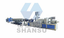 PVC pipe extrusion line max. 700 kg/h | SSG Qingdao Shansu Plastic Extrusion Equipment