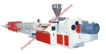 PVC pipe extrusion line 16 - 800 mm | GC series Zhangjiagang Yuanfeng Plastic Machinery Co., Ltd.