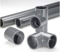 "plastic piping for chemical products 1/2 - 12"", PN 16, 0 - 60 °C Durapipe"