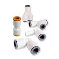 plastic pneumatic push-in fitting for beverages LIQUIFIT, LIQUIFIT+ Parker Hannifin Manufacturing France SAS