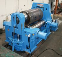 plate bending machine with 3 drive rollers and variable axis &oslash; 20 - 250 mm, 1 000 - 6 000 mm | EMO Sertom