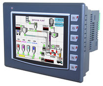 PLC with integrated touch screen HMI  Renu Electronics Pvt. Ltd.