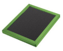 pleated panel air filter EnviroGreen� 8 Dust Free®