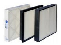 "pleated panel air filter (mini pleated) CI 4"" MICRO SHIELD™ Columbus Industries"