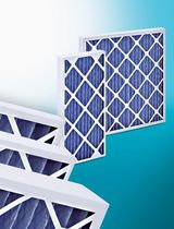 pleated panel air filter 250 Pa, G4 | Panfil series MGT Air Filters