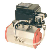 pneumatic actuator positioner 4 - 20 mA, 7 bar | EPR series END-Armaturen GmbH & Co. KG