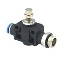 "pneumatic flow control valve 1/8"" - 1/2"" 