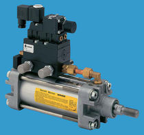 pneumatic linear valve actuator 500 - 120 000 N, max. 2 000 mm Centork