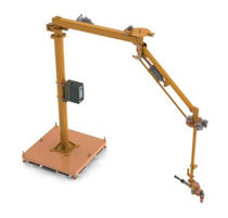 pneumatic manipulator with gripping tool 5 - 226 kg, 305 - 1 219 mm | ReactionArm® Positech