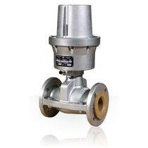 pneumatic pinch valve (normally closed) DN 10-200 SIRSI METALLISATOR S.P.A.