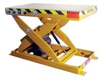 pneumatic scissor lift table 2 000 - 4 000 lb, 12'' - 24'' | AL series ECOA Industrial Products