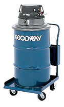 pneumatic vacuum cleaner max. 55 gal | AV-1200-55-DD Goodway
