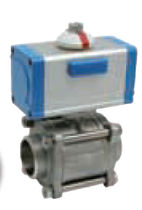 "pneumatically actuated ball valve 1/2"" - 4"", 100 bar SOCLA"