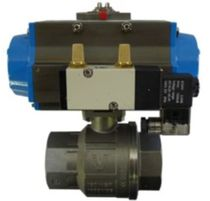 pneumatically actuated ball valve 900 psi Tekleen