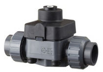 pneumatically actuated diaphragm valve DN 15 - 50 | DM/CP-NO series FIP - Formatura Iniezione Polimeri