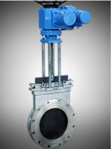 pneumatically-operated gate valve RP-1000 series Shanghai Ropo automation control system
