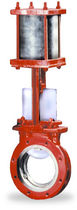 "pneumatically operated knife gate valve 2 - 12"", class 150 