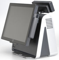 "point of sale touch screen computer (POS) 15 - 17"", Intel Core2 Duo, 3 GHz, max. 4 GB 