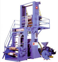 polyethylen blown film extrusion line NPS series Netplasmak Ltd.