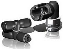 polymer push-in fitting for compressed air 0 - 16 bar | EASY series Sistem Pneumatica S.r.l.