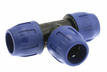 polymer tee fitting for compressed air Ø 16 - 63 mm | QLTEPA AIRCOM s.r.l.