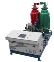 polyurethane foam injection machine  LED