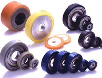 polyurethane tread / polypropylene core wheel  Bando