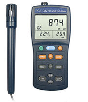 portable carbon dioxide (CO2) detector PCE-GA 70 PCE Instruments UK Ltd