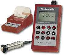 portable coating thickness gauge MiniTest 3100 ElektroPhysik Dr. Steingroever GmbH & Co. KG